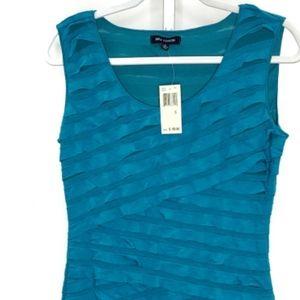 NWT Max Edition Bodycon Bandage Dress Teal